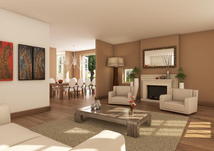 Artist impressions interieur woningen bouwadviesnl - Interieur van een huis ...